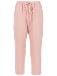 Olympiah Alberelle Cropped Trousers Neutrals