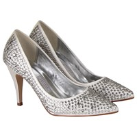 Rainbow Couture Antonia Court Shoes Ivory