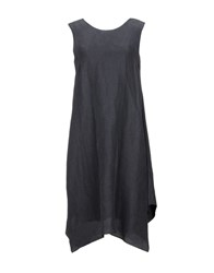 Caliban Knee Length Dresses Lead