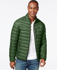Inc International Concepts Solid Down Packable Jacket Only At Macy's Winter Green