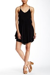 Romeo And Juliet Couture Racerback Ruffle Dress Black