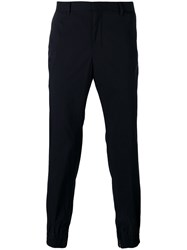 Wooyoungmi Tailored Trousers Men Cotton Polyester 46 Blue