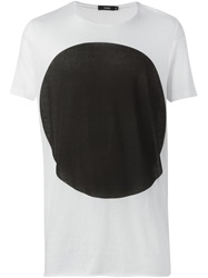 Bassike Oversized Dot T Shirt White