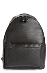Men's Ted Baker London 'Heyriko' Textured Leather Backpack