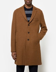 Harris Wharf London Alpaca Boxy Coat Bisquit