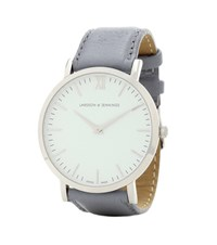 Larsson And Jennings Lugano 38Mm Stainless Steel Watch Grey