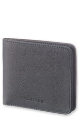 Moleskine Men's Lineage Leather Wallet Blue Avio Blue