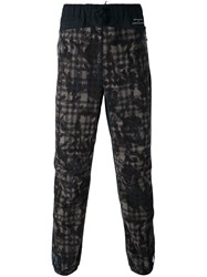 Adidas Originals Originals X White Mountaineering Patterned Track Pants Black