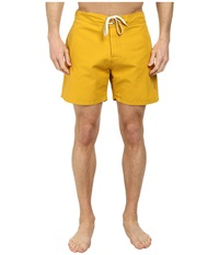 Lightning Bolt Plain Crane Boardshorts Nugget Gold Men's Swimwear Yellow