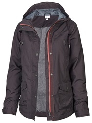 Fat Face Winchester Warm And Dry Jacket Charcoal