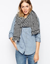 Oasis Dogtooth Scarf Multi
