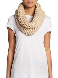 Cole Haan Chunky Knit Infinity Scarf