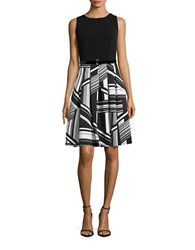 Tommy Hilfiger Belted Fit And Flare Dress