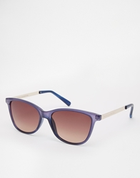 French Connection Clubmaster Sunglasses Blue