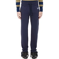 Visvim Men's French Terry Sweatpants Navy