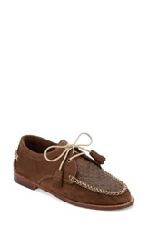 G.H. Bass Women's And Co. 'Winnie' Leather Oxford Cafe Nubuck