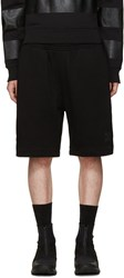 Marcelo Burlon Black Sajama Shorts