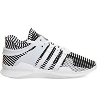 Adidas Equipment Support Adv Patterned Mesh Trainers White Black Pk