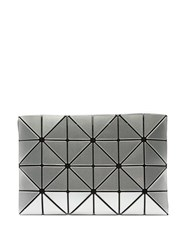Bao Bao Issey Miyake Lucent Pvc Pouch Silver