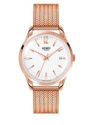 Henry London Richmond Milanese Analog Mesh Bracelet Watch No Color