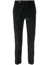 Entre Amis Corduroy Tailored Trousers Blue