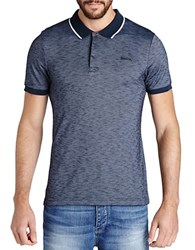 Bench Shadowy Heathered Polo Blue