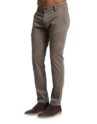 Mavi Jeans Slim Fit Cotton Blend Chinos Dusty Olive