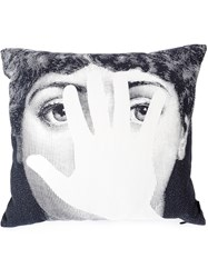 Fornasetti Hand Pillow White