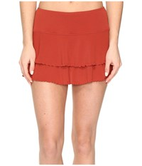 Body Glove Smoothies Lambada Skirt Terracotta Women's Swimwear Orange