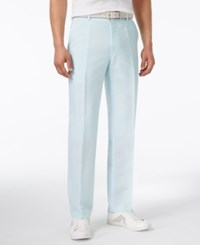 Inc International Concepts Neal Linen Slim Fit Pants Only At Macy's Mint