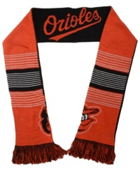 Forever Collectibles Baltimore Orioles Reversible Split Logo Scarf Black