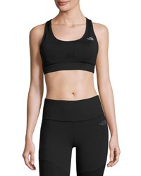 The North Face Stow N Go Iv Sports Bra For C D Cups Black