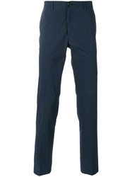 Paul Smith Ps By Tailored Trousers Men Cotton 36 Blue