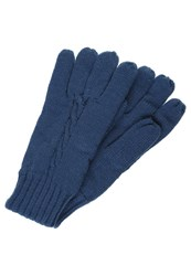 Your Turn Gloves Navy Dark Blue