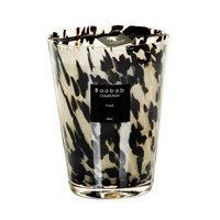 Baobab Pearls Scented Candle Black Pearls Black And White