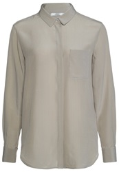 0039 Italy Cyra Blouse Taupe