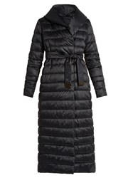 Max Mara Novels Reversible Coat Navy