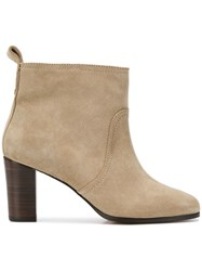Tila March Lucien Boots Nude And Neutrals