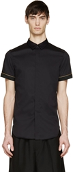 Cy Choi Black Zipper Trim Pierre Vanni Edition Shirt