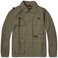 Wtaps Jungle Shirt Jacket Olive Drab