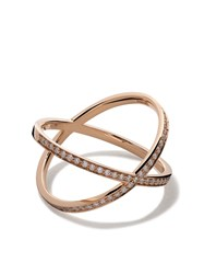 Vanrycke 18Kt Rose Gold And Diamond Coachella Ring Unavailable