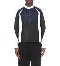 Casely Hayford Rock Racing Shell Jacket Blk Wht Blue