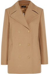 Joseph Cart Cotton Blend Twill Coat Sand
