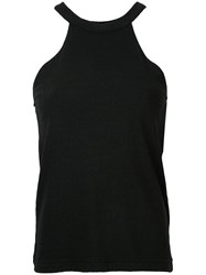 Simon Miller Sleeveless Top Women Cotton One Size Black