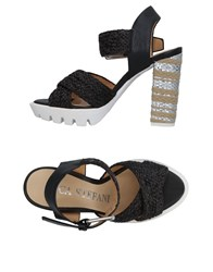 Luca Stefani Sandals Black