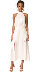 Zimmermann Sueded Picnic Dress Pearl