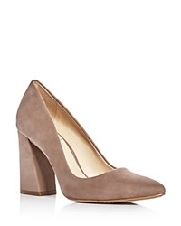 Vince Camuto Talise Pointed Toe Pumps Beige