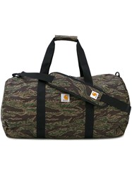 Carhartt Camouflage Holdall Men Polyester One Size Green