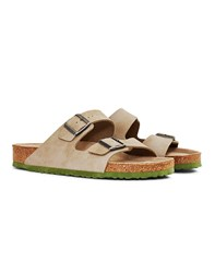 Birkenstock Two Tone Arizona Sandal Tan Grey
