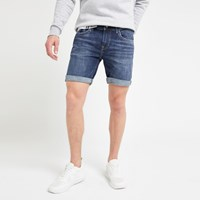 River Island Pepe Jeans Blue Slim Fit Denim Shorts